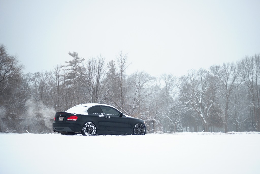 BMW 135i winter wheels