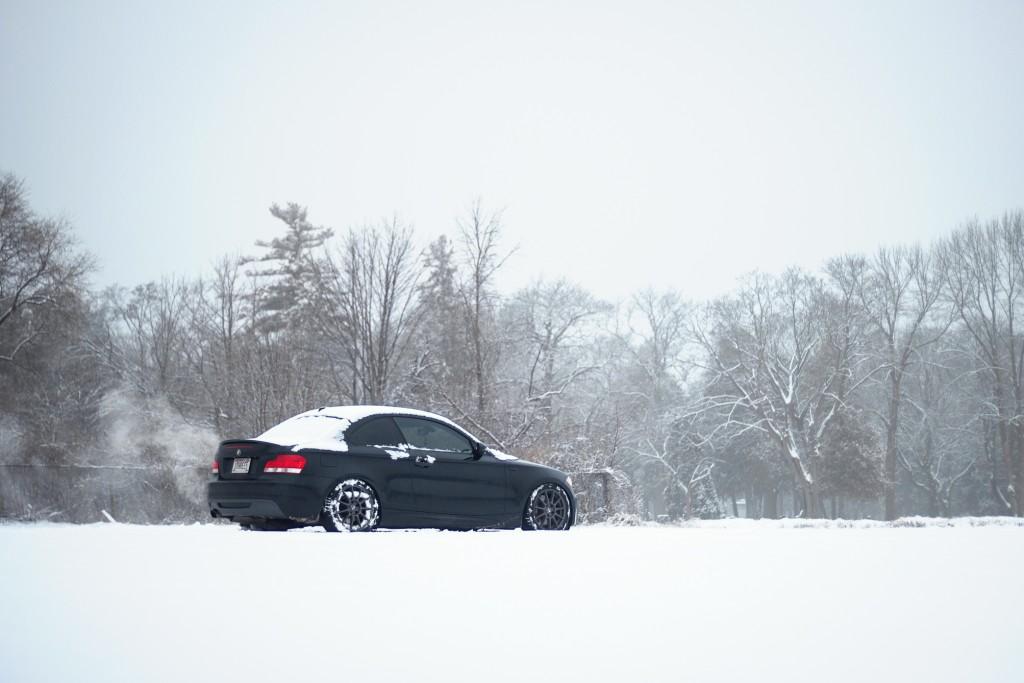 BMW 135i winter wheels