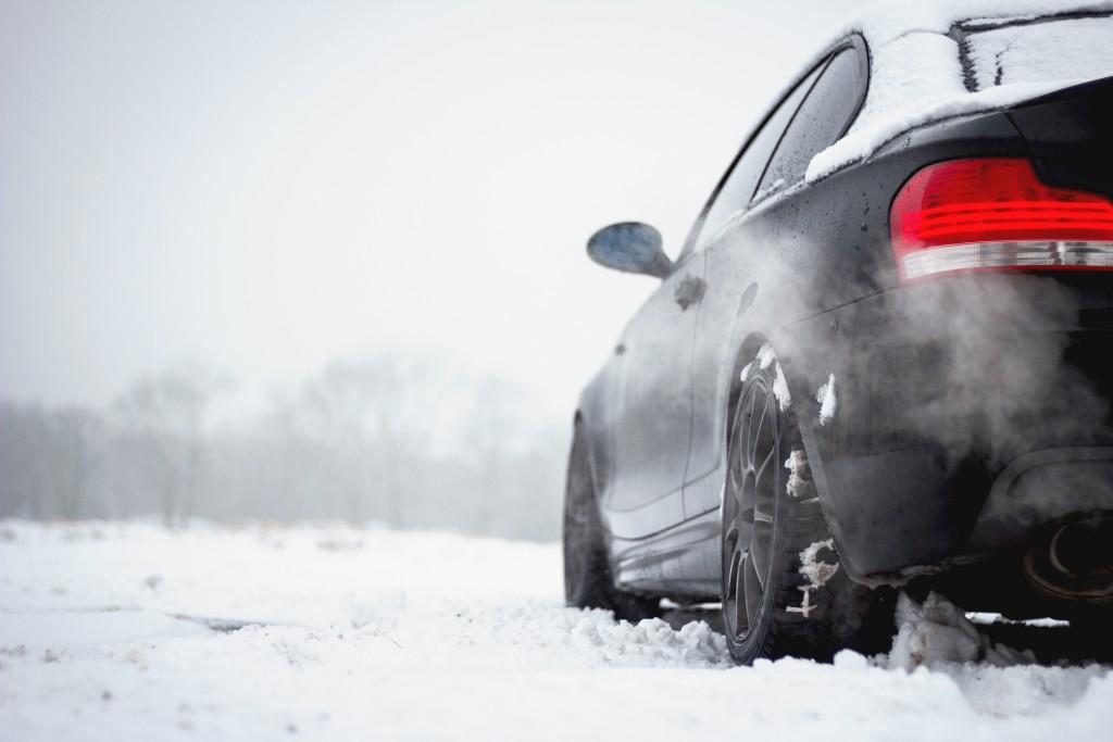 BMW 135i winter tire tread
