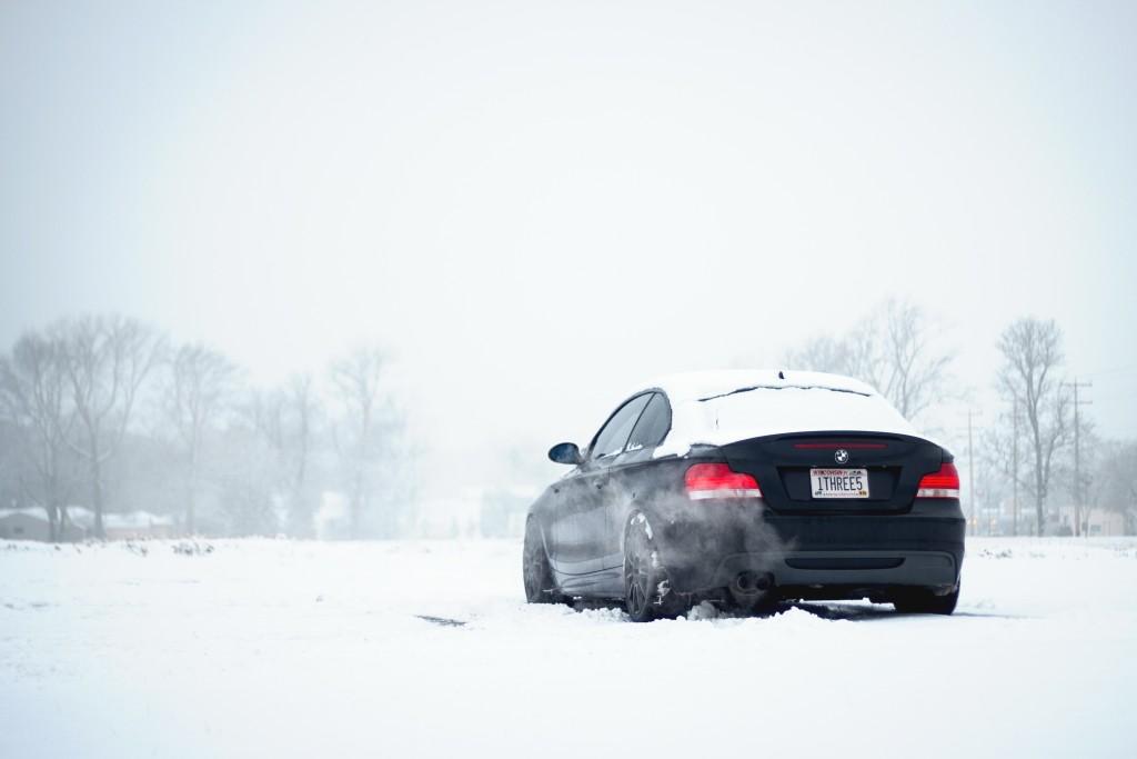 BMW 135i winter