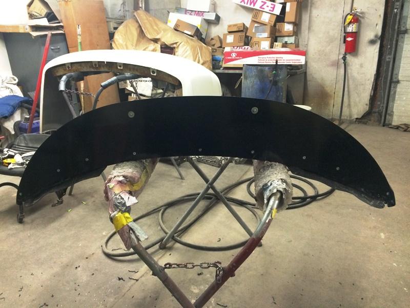 BMW 135i - installing splitter