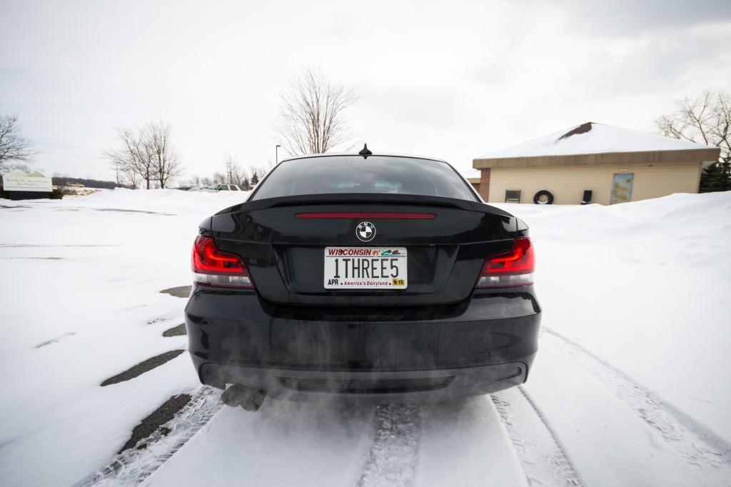 BMW 135i Blacklines Installed