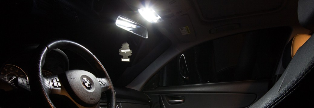 BMW 135i - LED interior conversion