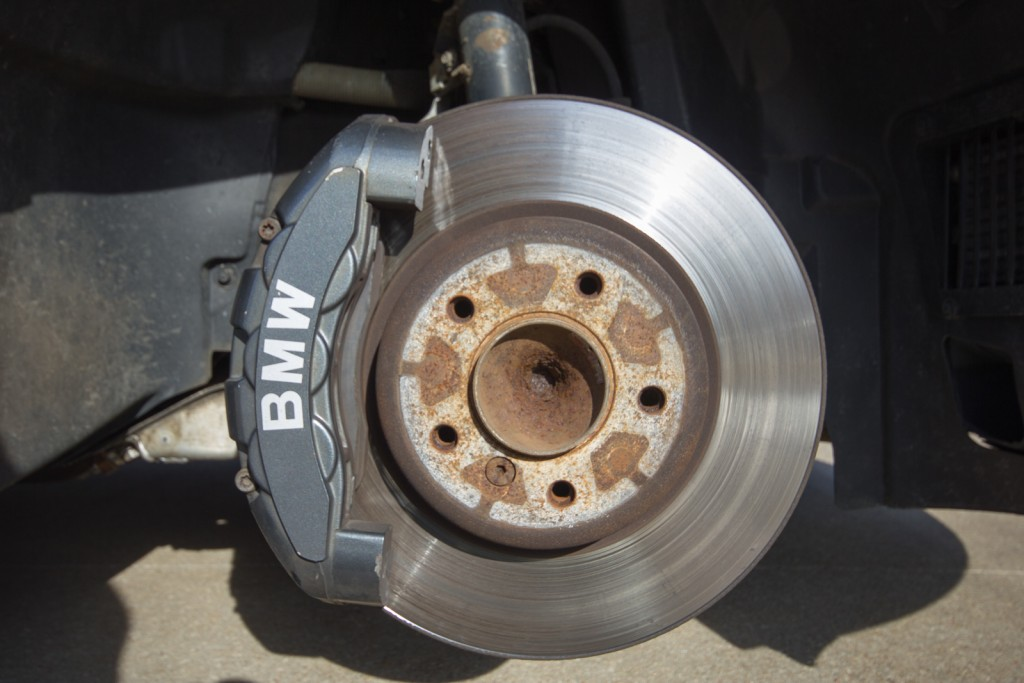 Removed wheel