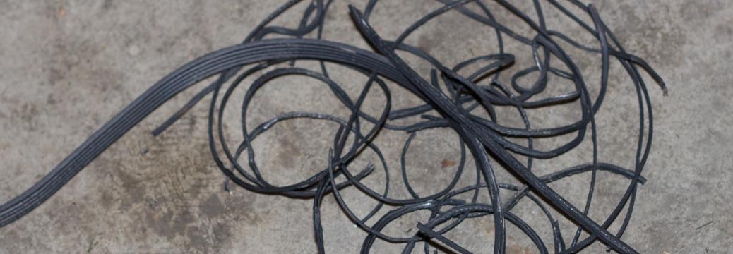 Belt tensioner pulley noise